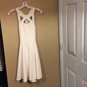 White dress from David's bridal